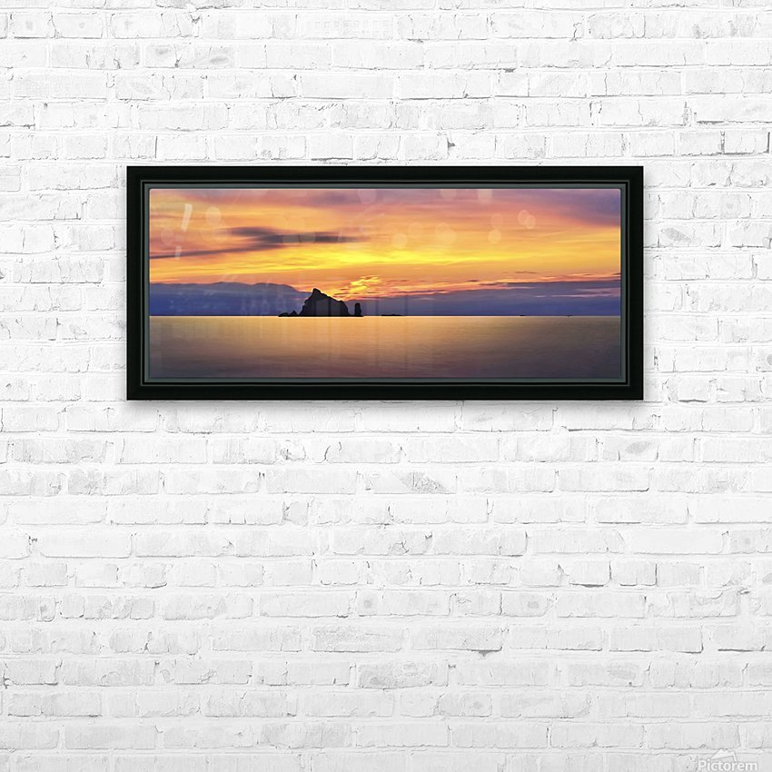 Olympic Sunset 2 HD Sublimation Metal print with Decorating Float Frame (BOX)