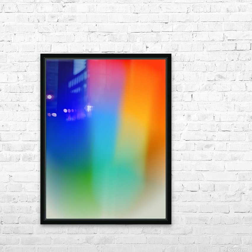 Aura HD Sublimation Metal print with Decorating Float Frame (BOX)