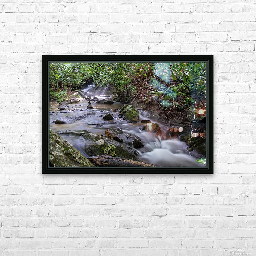 Zen Stones HD Sublimation Metal print with Decorating Float Frame (BOX)