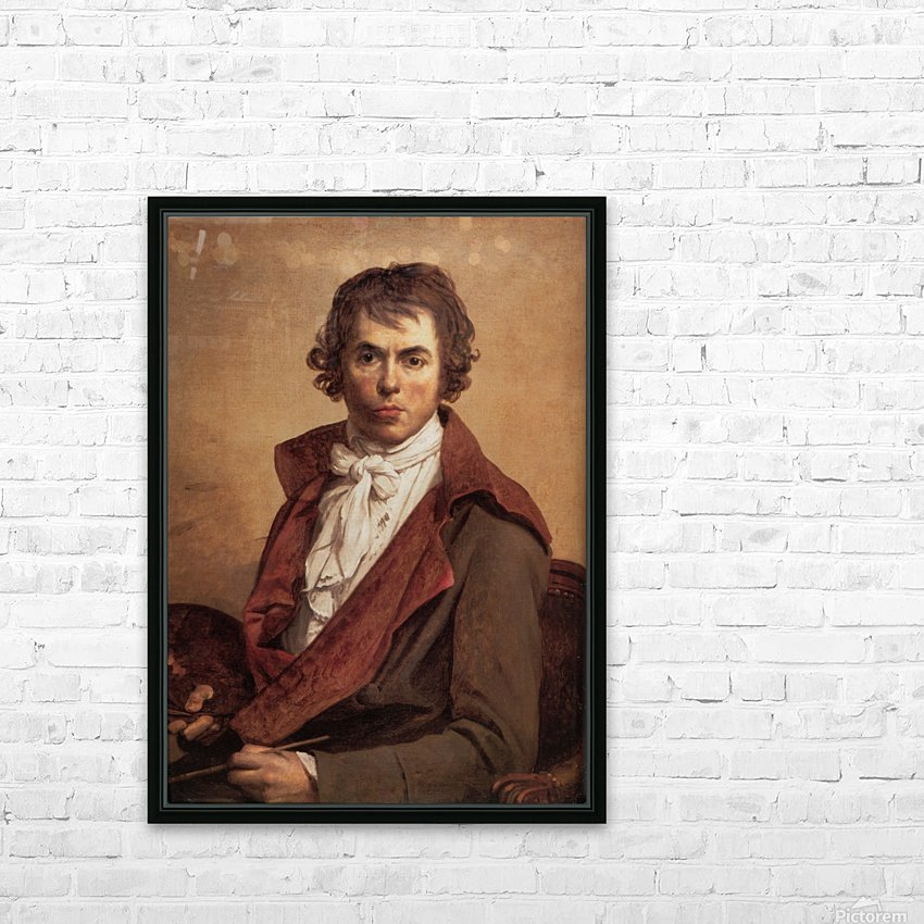 David Self Portrait HD Sublimation Metal print with Decorating Float Frame (BOX)