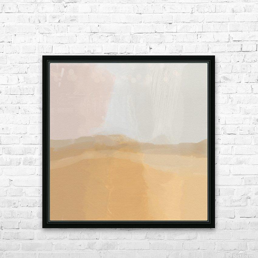 Misty Landscape HD Sublimation Metal print with Decorating Float Frame (BOX)