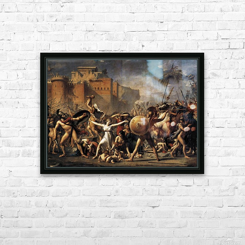 The Sabine Women HD Sublimation Metal print with Decorating Float Frame (BOX)
