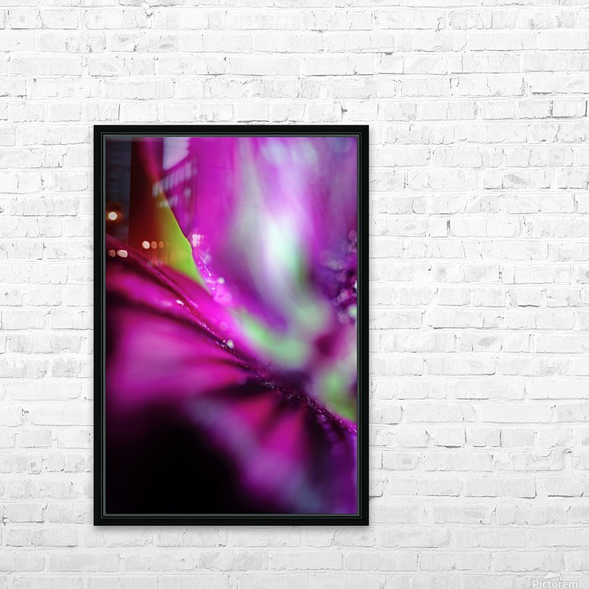 Abstract Pop Color Flower Photography 05 HD Sublimation Metal print with Decorating Float Frame (BOX)