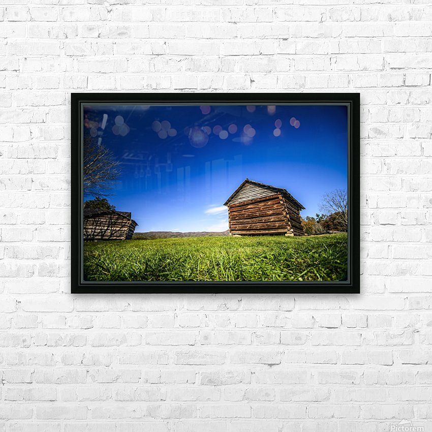 Cades Cove HD Sublimation Metal print with Decorating Float Frame (BOX)