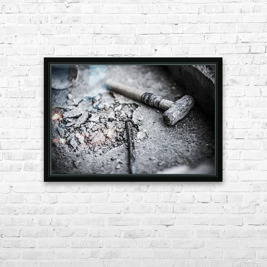 Hammer HD Sublimation Metal print with Decorating Float Frame (BOX)