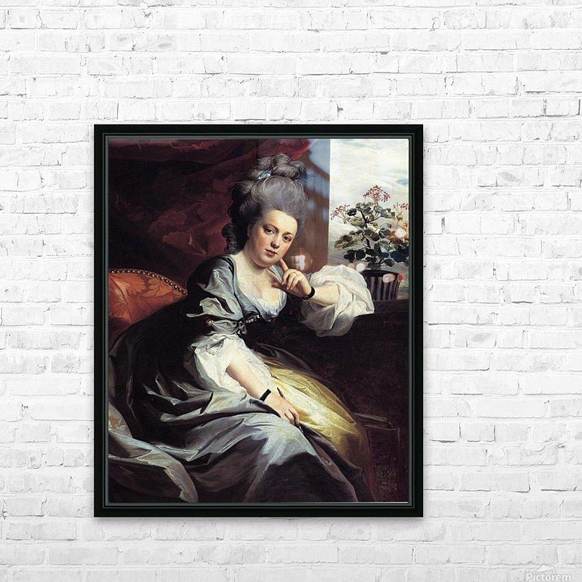Mrs. Clark Gayton HD Sublimation Metal print with Decorating Float Frame (BOX)