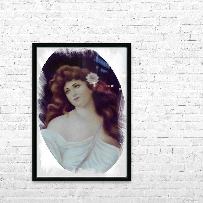 Titian Beauty HD sublimation métal imprimé avec décoration flotteur cadre (boîte)