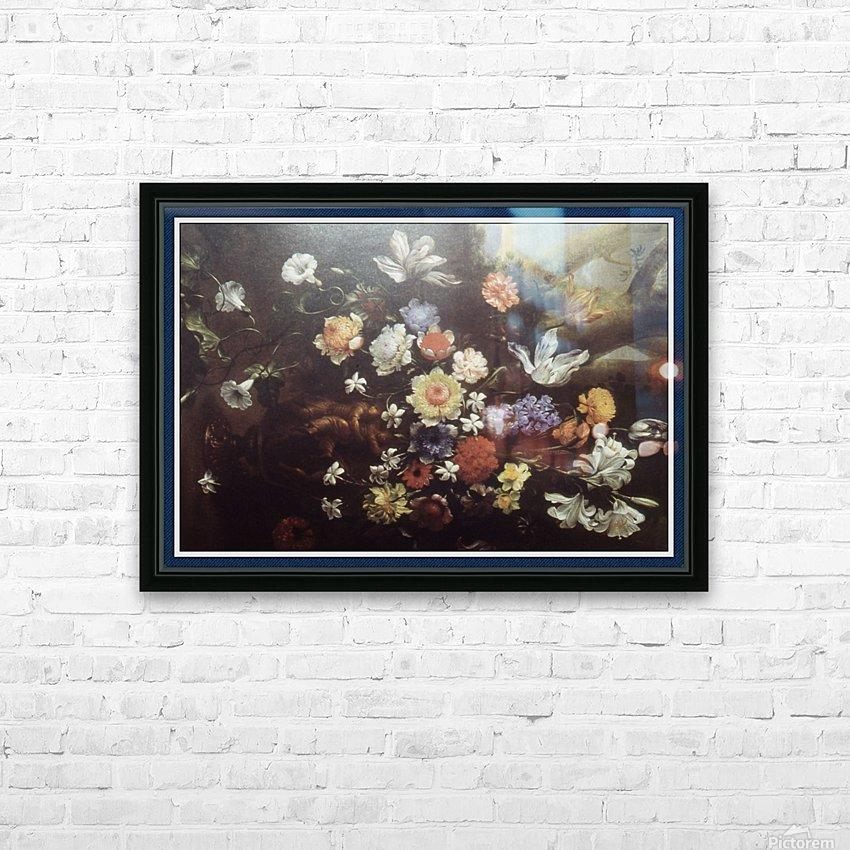 Howard010_Fotor floral1 copy HD sublimation métal imprimé avec décoration flotteur cadre (boîte)