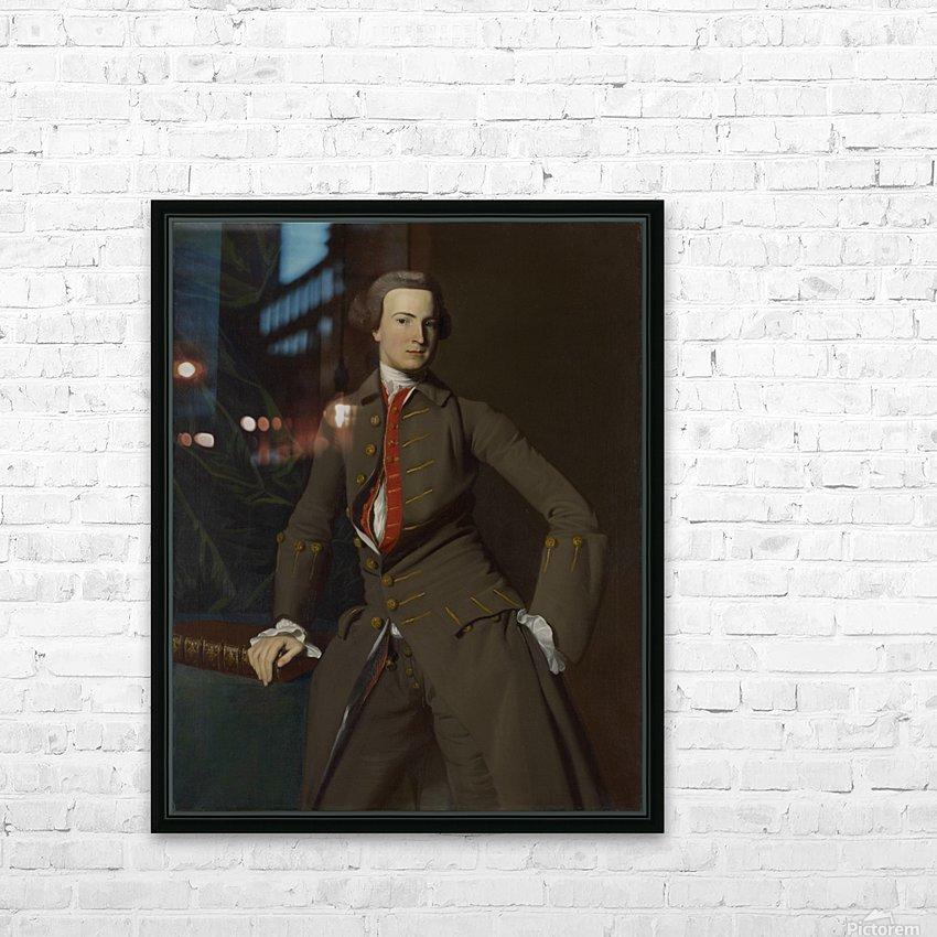 Georgians Pickman HD Sublimation Metal print with Decorating Float Frame (BOX)
