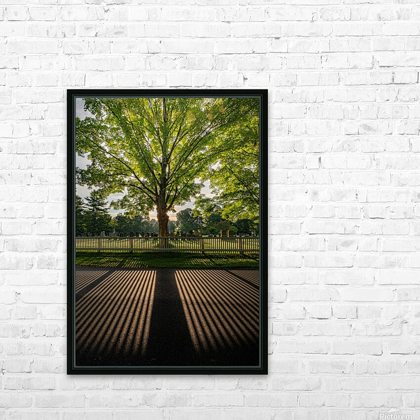 Sunrise in Dunstable HD Sublimation Metal print with Decorating Float Frame (BOX)