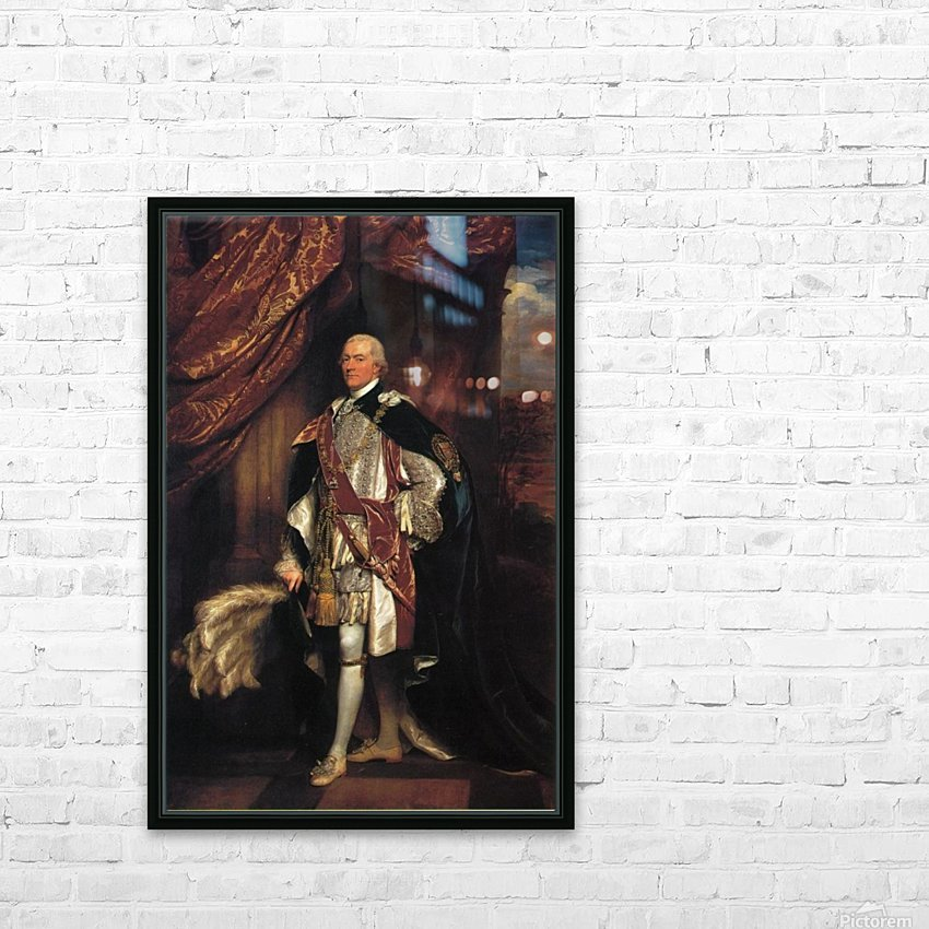 Baron Graham HD Sublimation Metal print with Decorating Float Frame (BOX)