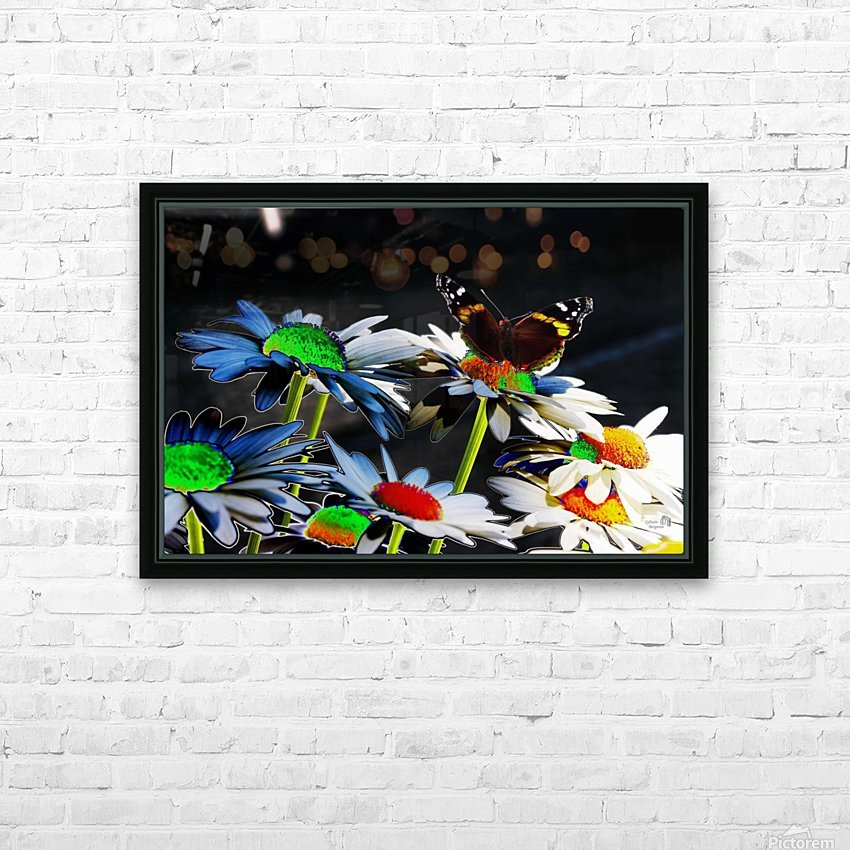 Couleurs en nature HD Sublimation Metal print with Decorating Float Frame (BOX)