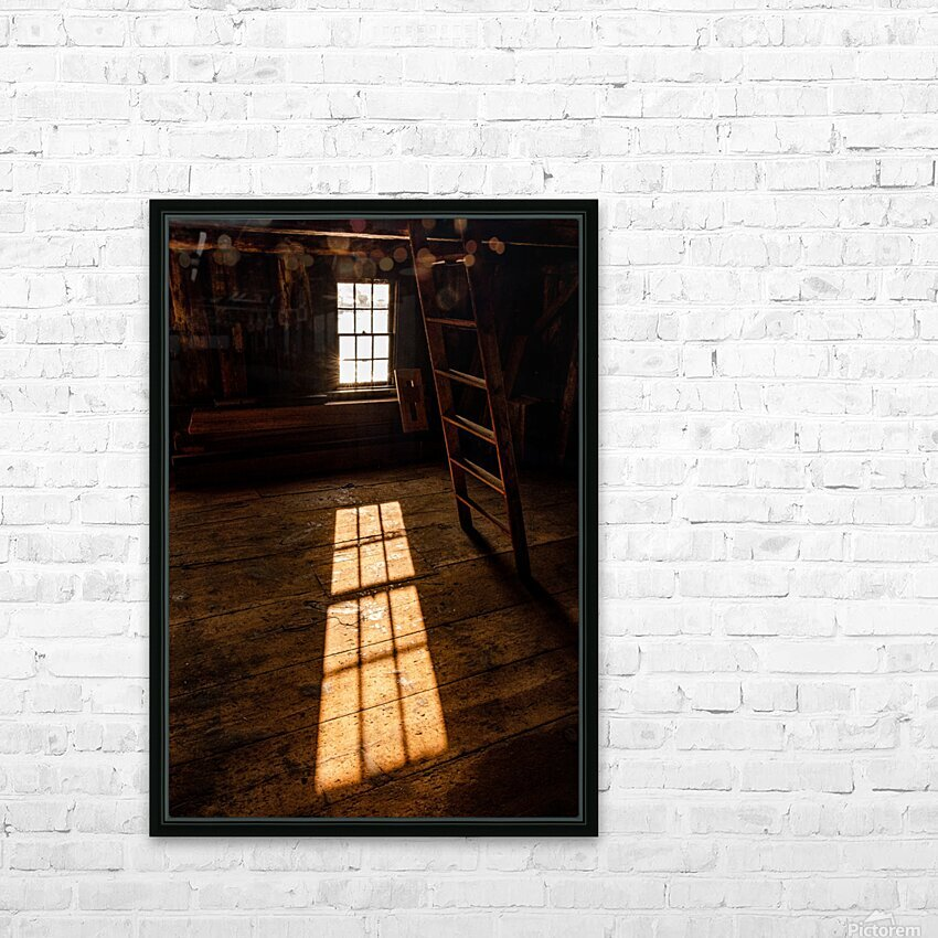 Shaefe Warehouse Loft HD Sublimation Metal print with Decorating Float Frame (BOX)