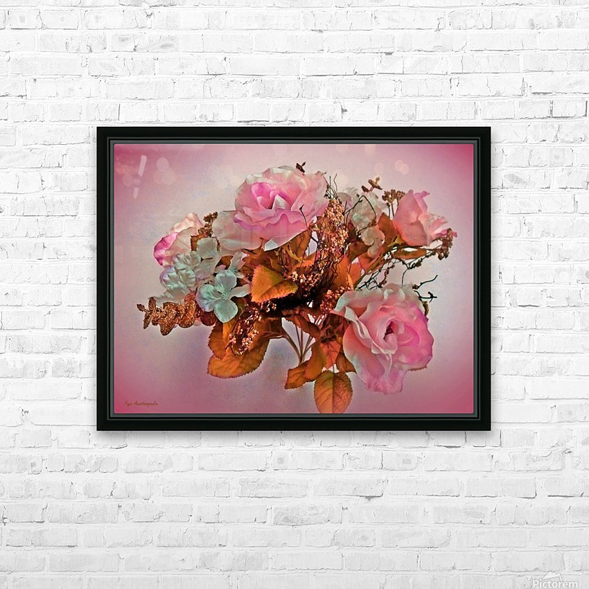 Pink Springtime Morning HD Sublimation Metal print with Decorating Float Frame (BOX)