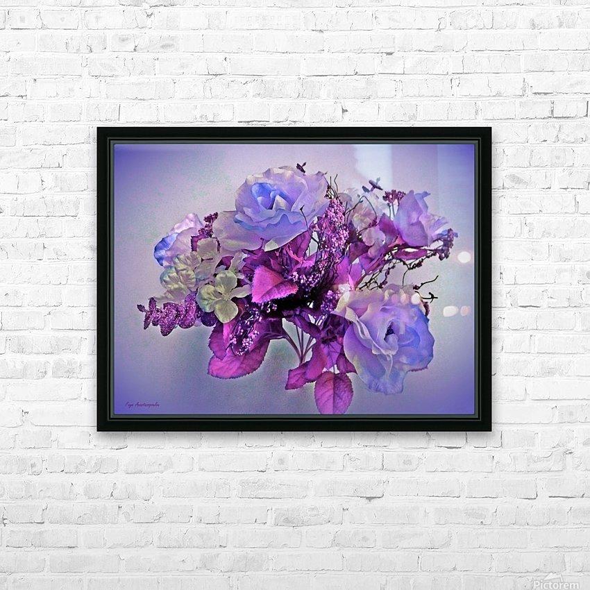 Mauve Springtime Morning HD Sublimation Metal print with Decorating Float Frame (BOX)