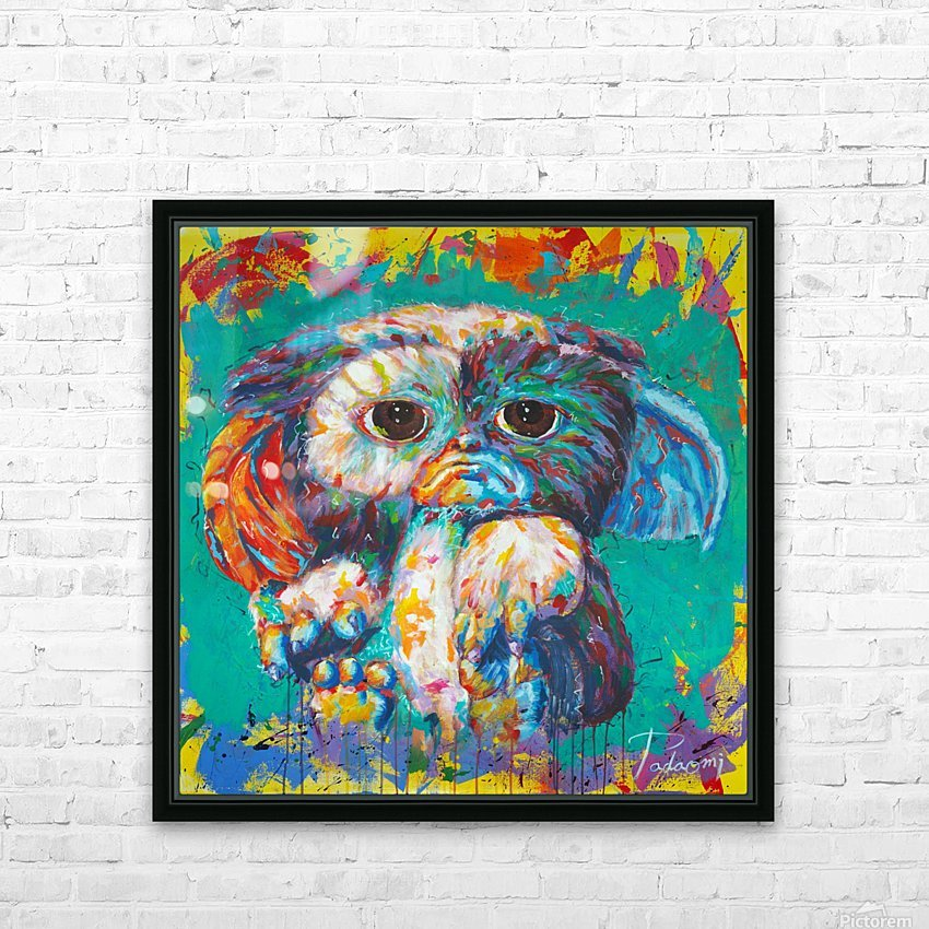 Gizmo Portrait Art - Tadaomi - HD Sublimation Metal print with Decorating Float Frame (BOX)