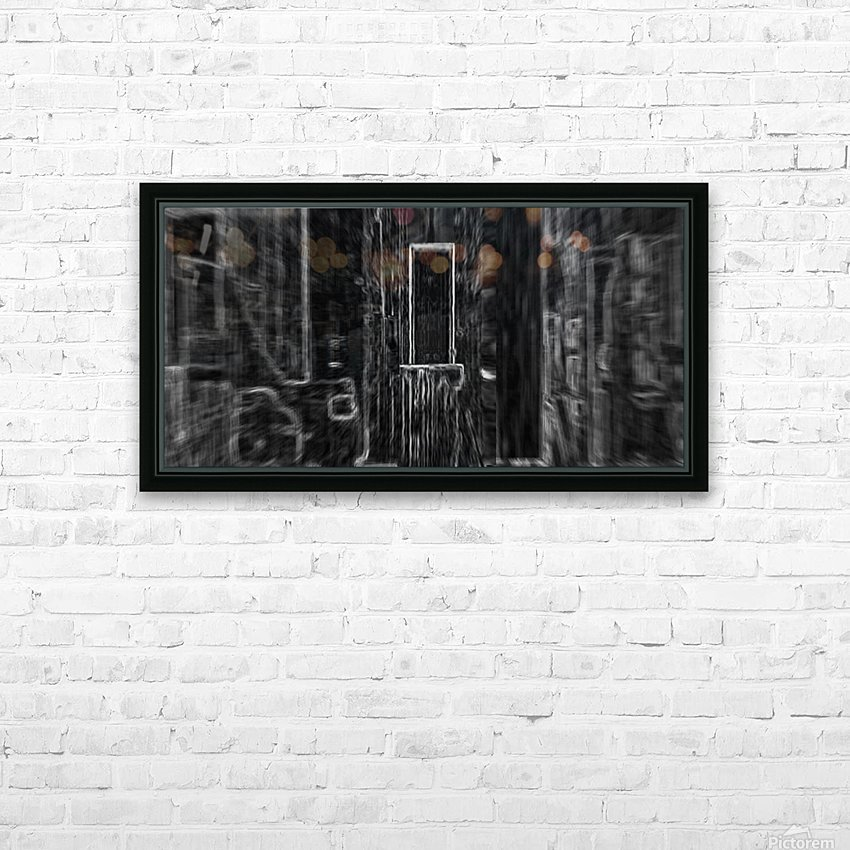 Yesteryear_Storage Room HD Sublimation Metal print with Decorating Float Frame (BOX)