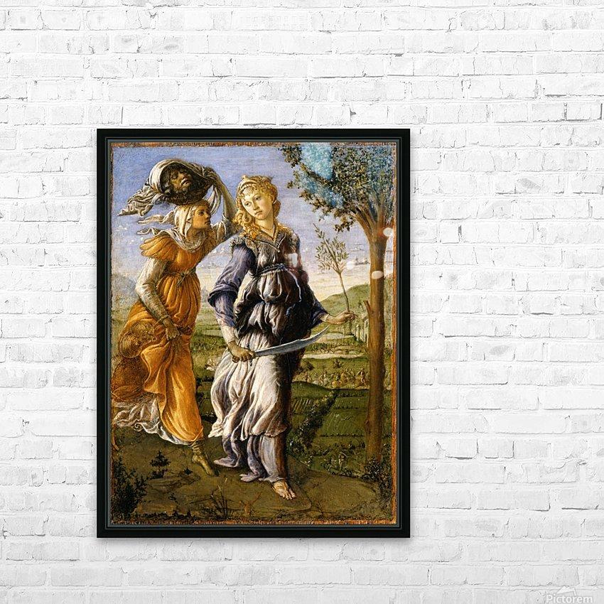 Il ritorno di Giuditta a Betulia HD Sublimation Metal print with Decorating Float Frame (BOX)