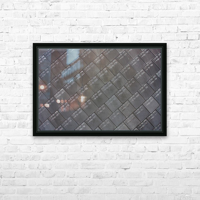 Space Shuttle Tiles HD Sublimation Metal print with Decorating Float Frame (BOX)