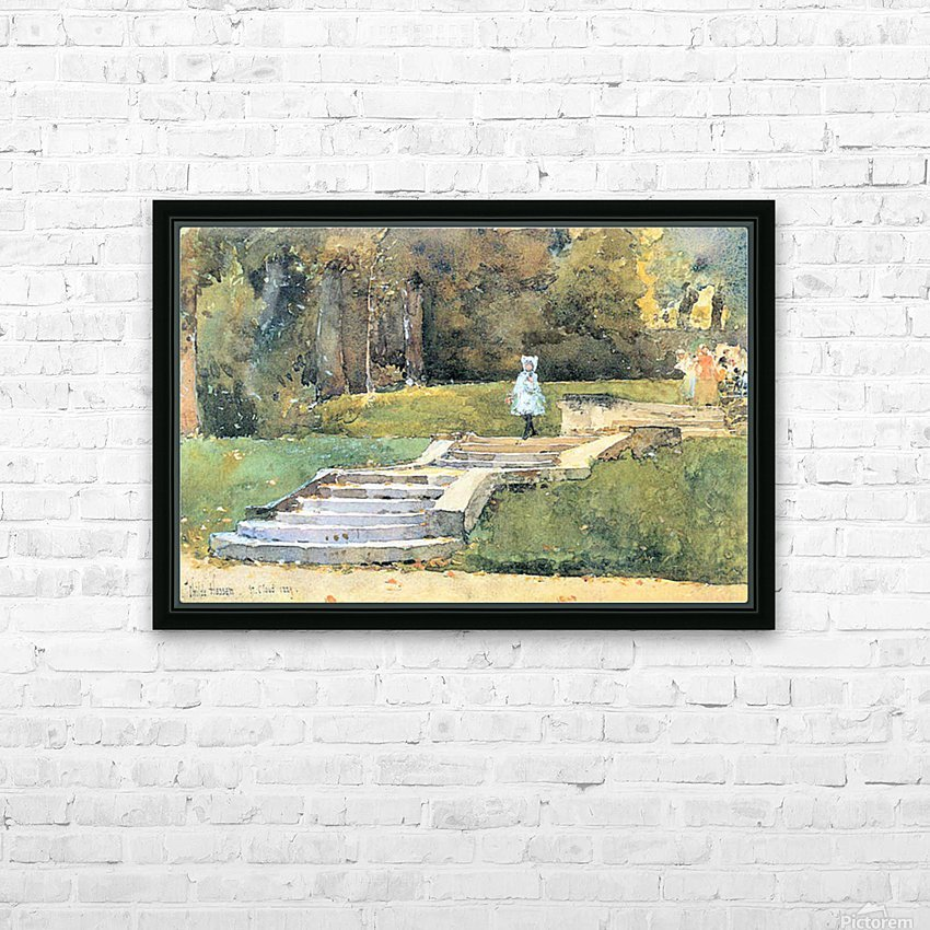 St. Cloud Mn. by Hassam HD Sublimation Metal print with Decorating Float Frame (BOX)