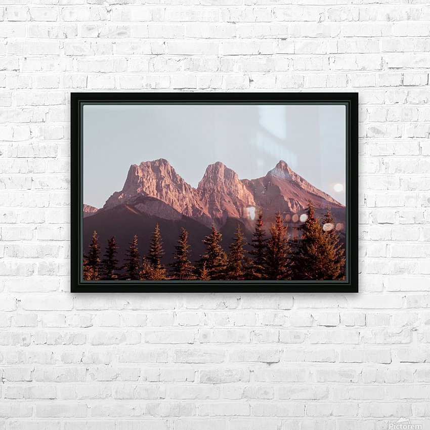 The Three Sisters HD Sublimation Metal print with Decorating Float Frame (BOX)