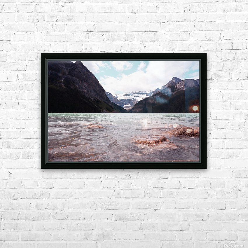 ACS_0010 HD Sublimation Metal print with Decorating Float Frame (BOX)