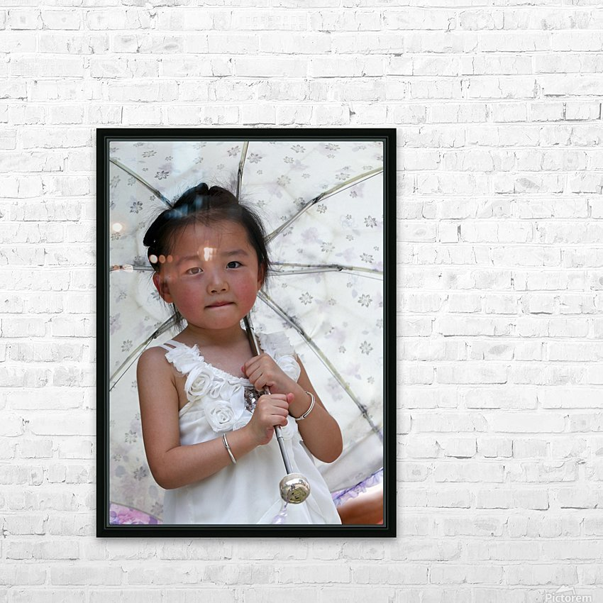 Beijing Princess HD Sublimation Metal print with Decorating Float Frame (BOX)