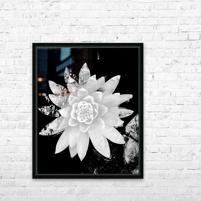 White Is the love  HD sublimation métal imprimé avec décoration flotteur cadre (boîte)