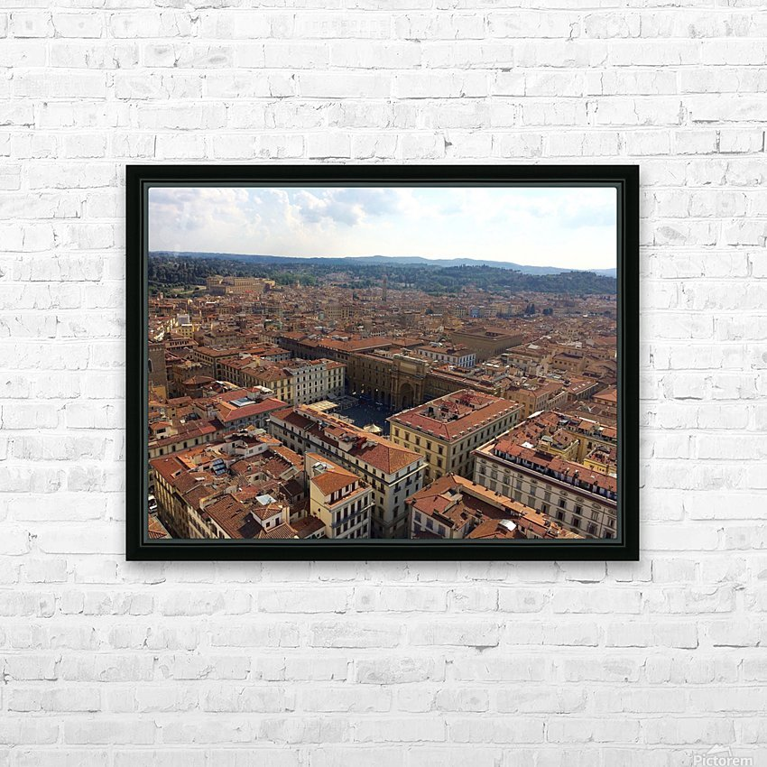 Firenze HD Sublimation Metal print with Decorating Float Frame (BOX)
