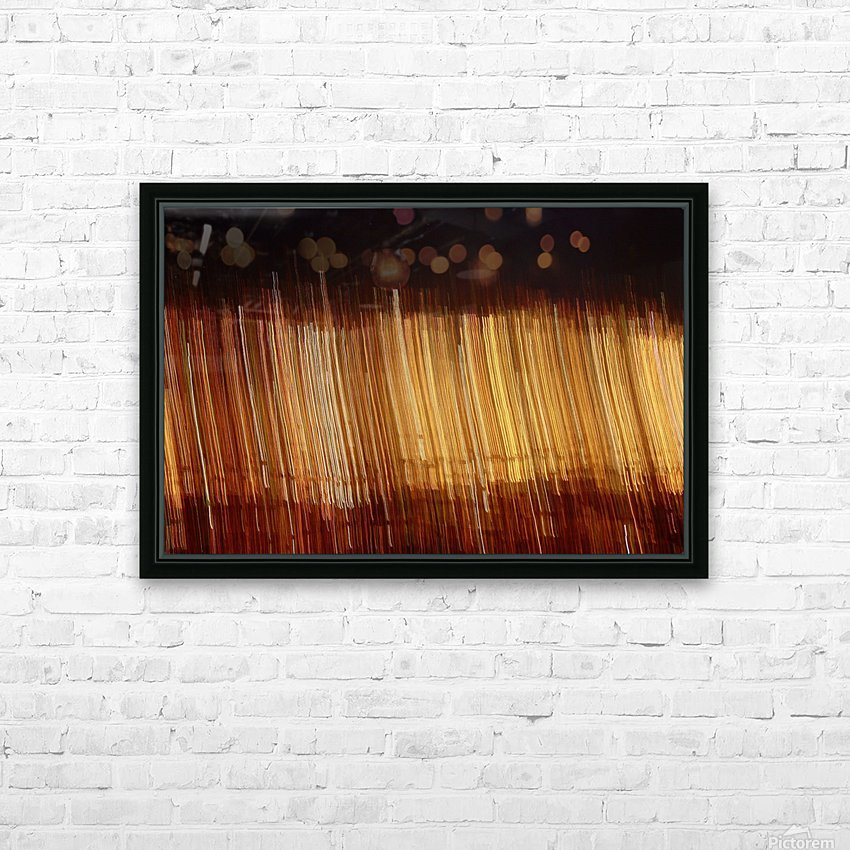 Blurred City HD Sublimation Metal print with Decorating Float Frame (BOX)