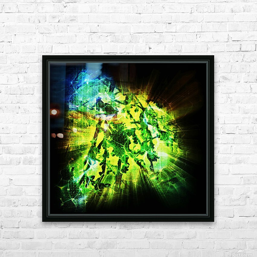 Battle WON HD Sublimation Metal print with Decorating Float Frame (BOX)
