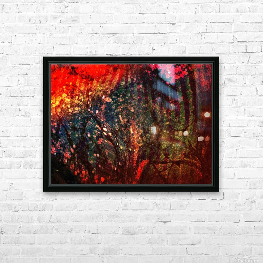 In The Tree HD Sublimation Metal print with Decorating Float Frame (BOX)