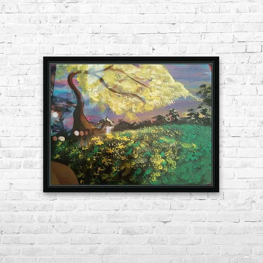Golden Dreams HD Sublimation Metal print with Decorating Float Frame (BOX)