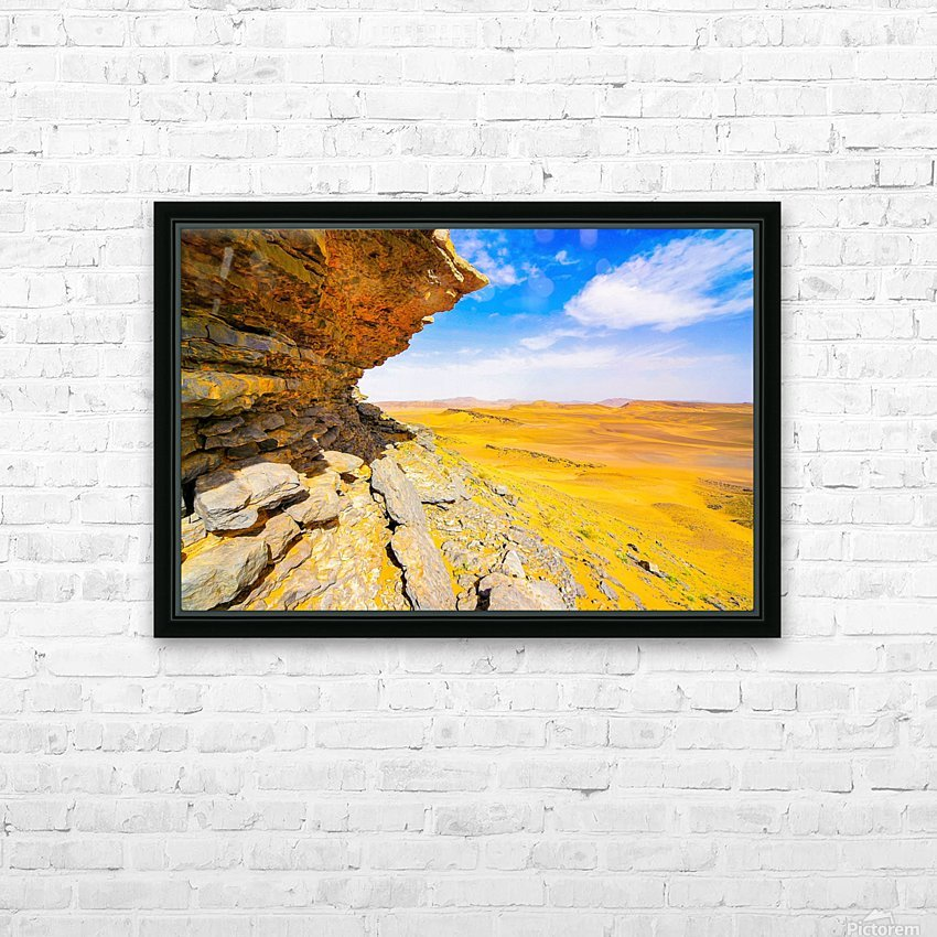 V  HD Sublimation Metal print with Decorating Float Frame (BOX)