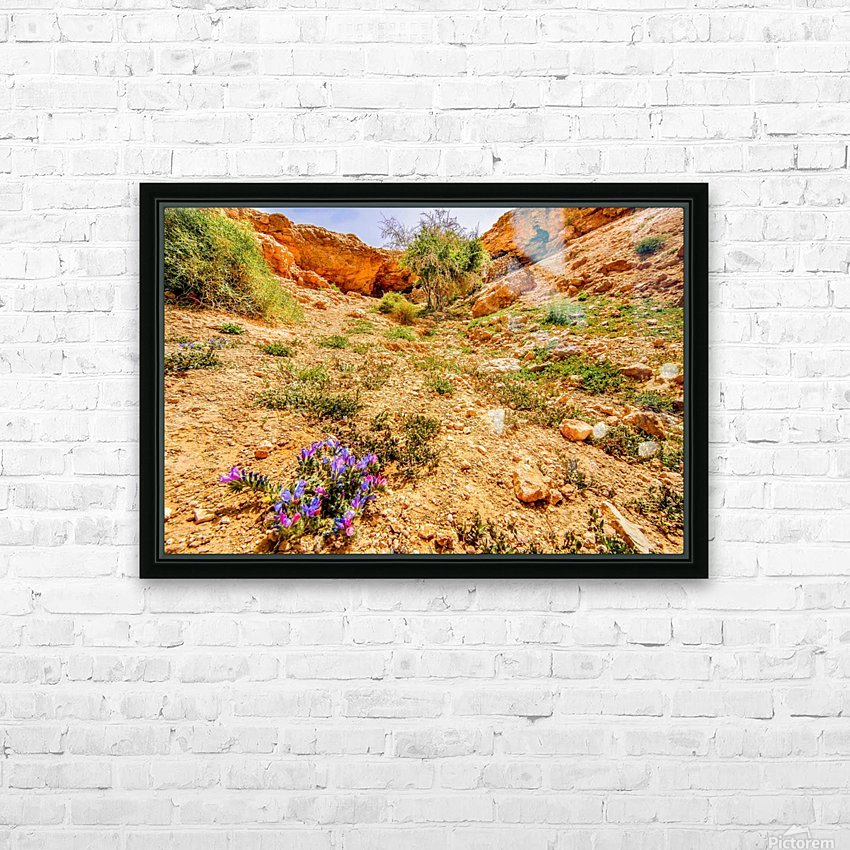 Grotte Sahara HD Sublimation Metal print with Decorating Float Frame (BOX)