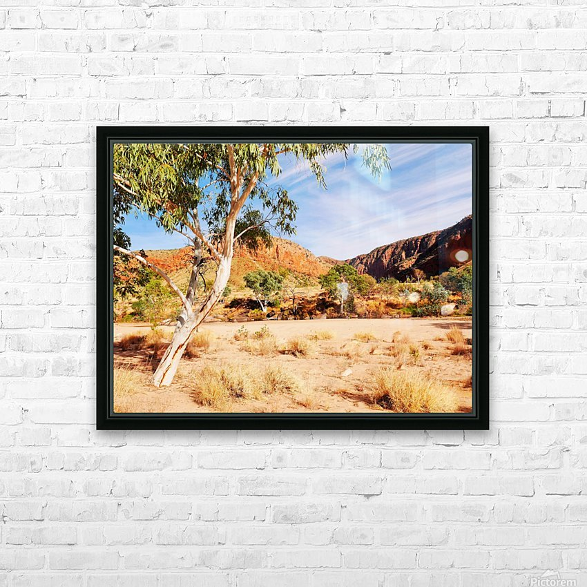 Ghost Gum  - Central Australia 3 HD Sublimation Metal print with Decorating Float Frame (BOX)
