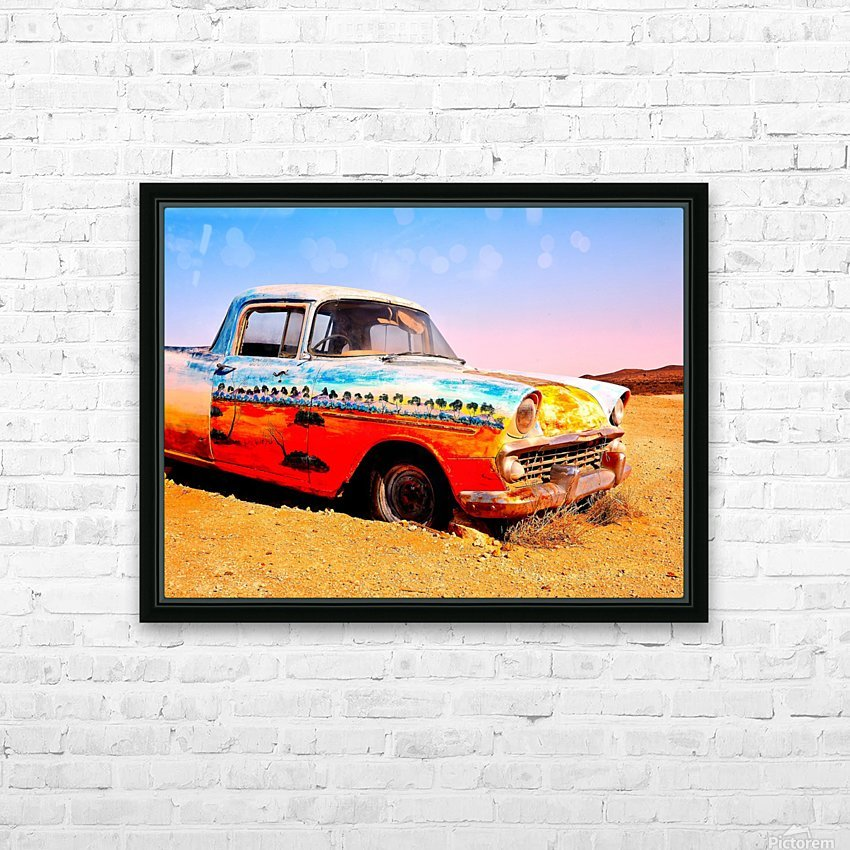 Quirky Sights of the Outback 4 HD Sublimation Metal print with Decorating Float Frame (BOX)