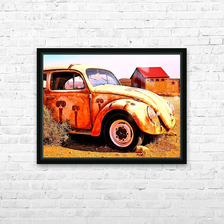 Quirky Sights of the Outback 5 HD Sublimation Metal print with Decorating Float Frame (BOX)