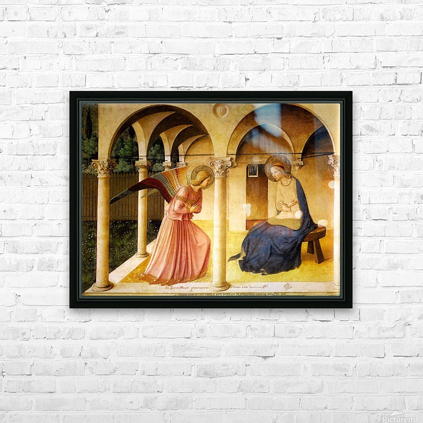 The Announcement HD Sublimation Metal print with Decorating Float Frame (BOX)