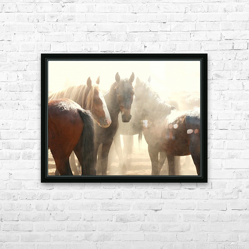 Leader of the Mob HD Sublimation Metal print with Decorating Float Frame (BOX)