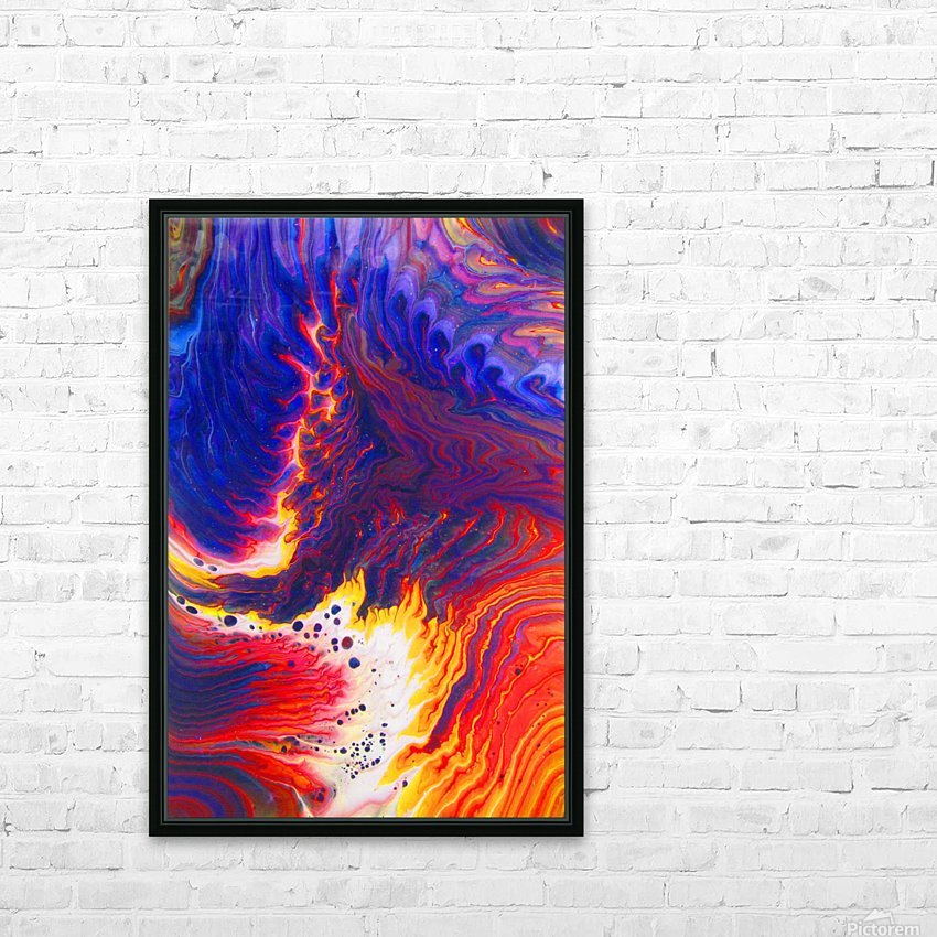 Kindle Your Inner Flame HD Sublimation Metal print with Decorating Float Frame (BOX)