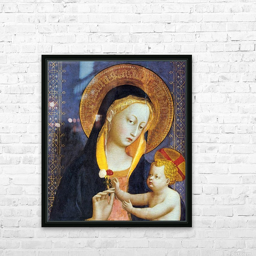 San Domenico HD Sublimation Metal print with Decorating Float Frame (BOX)