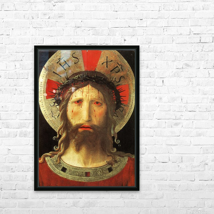 The Color of Christ Passion HD Sublimation Metal print with Decorating Float Frame (BOX)