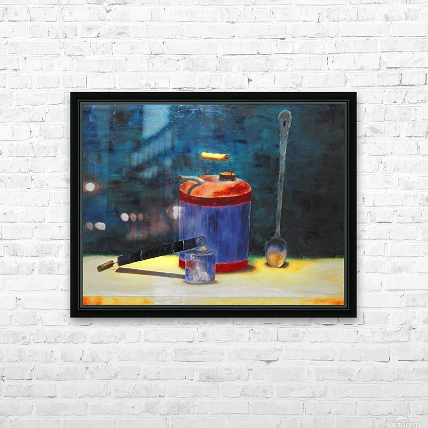 Oldtimers HD Sublimation Metal print with Decorating Float Frame (BOX)