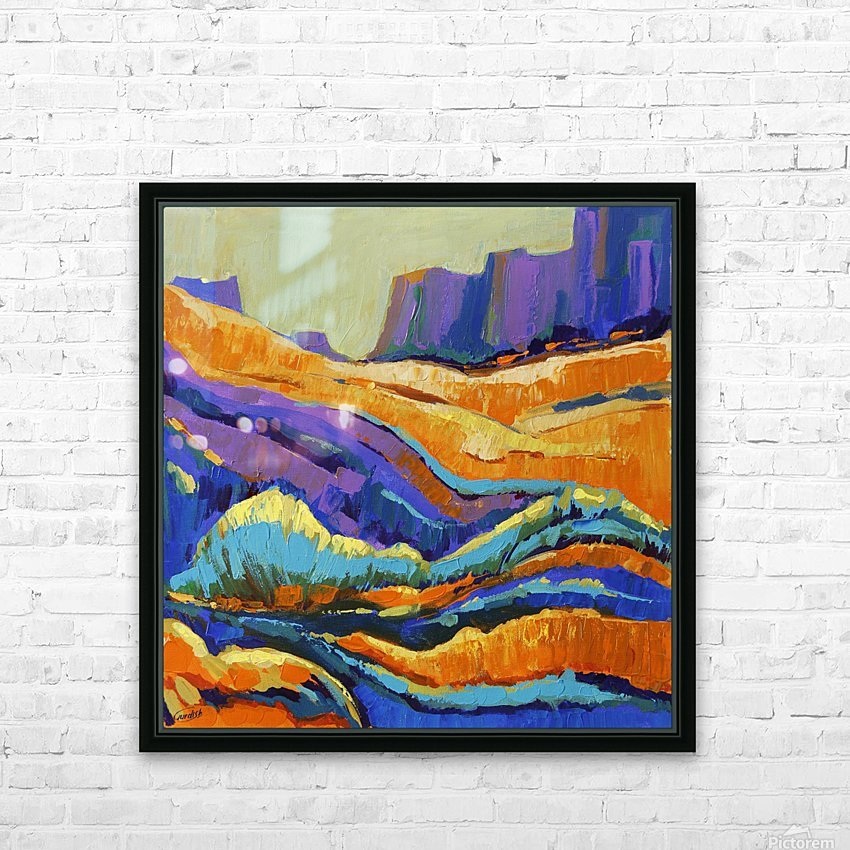 The Grand Canyon_8 18x18 HD Sublimation Metal print with Decorating Float Frame (BOX)