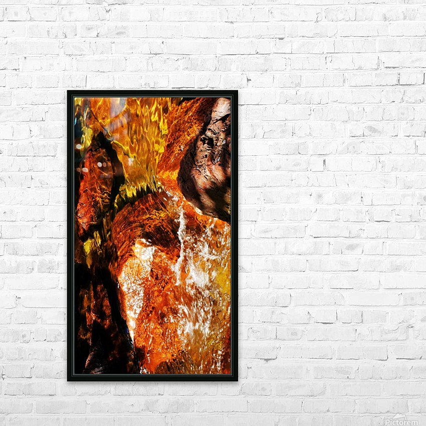 Australia Rocks - Abstract 36 HD Sublimation Metal print with Decorating Float Frame (BOX)