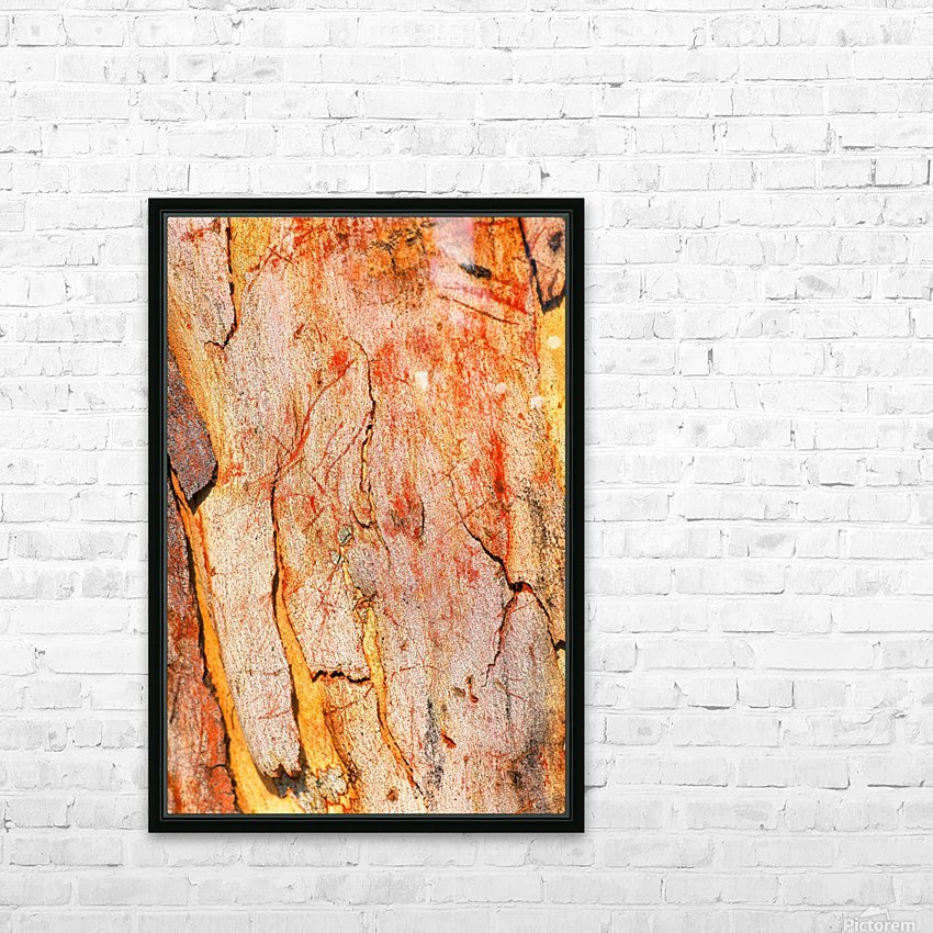 Eucalyptus Bark And Patterns HD Sublimation Metal print with Decorating Float Frame (BOX)