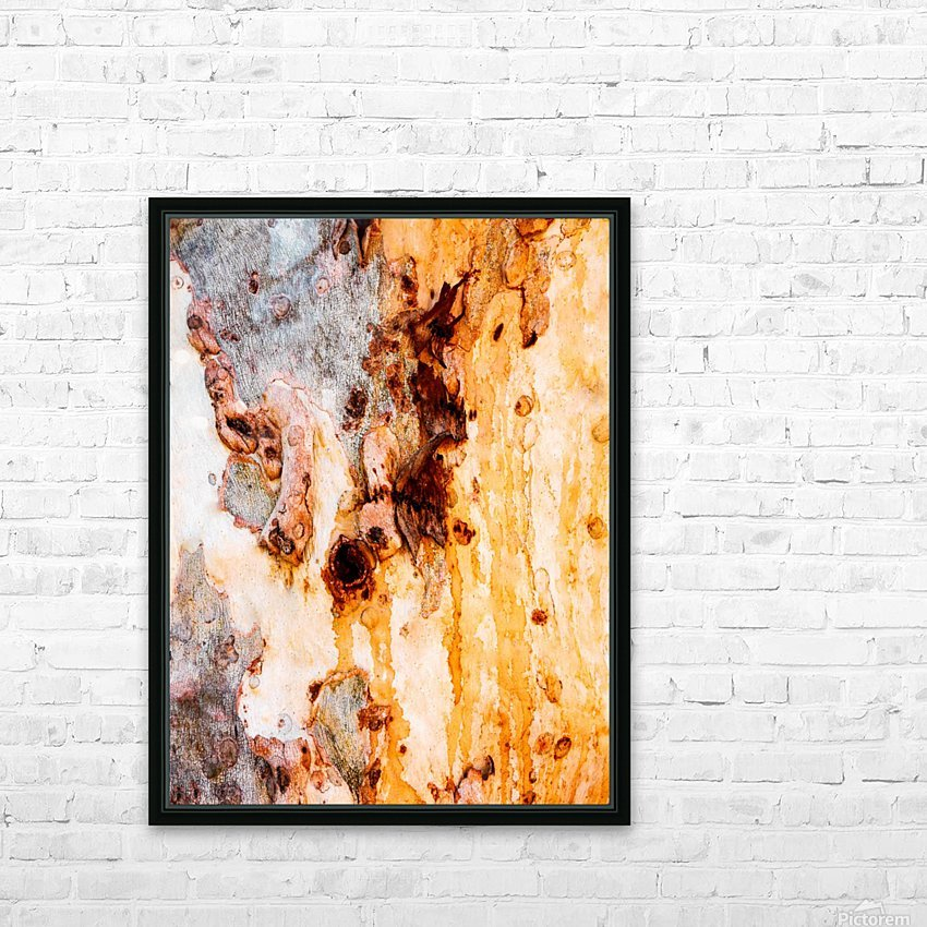 Ghost Gum Bark - 4 HD Sublimation Metal print with Decorating Float Frame (BOX)
