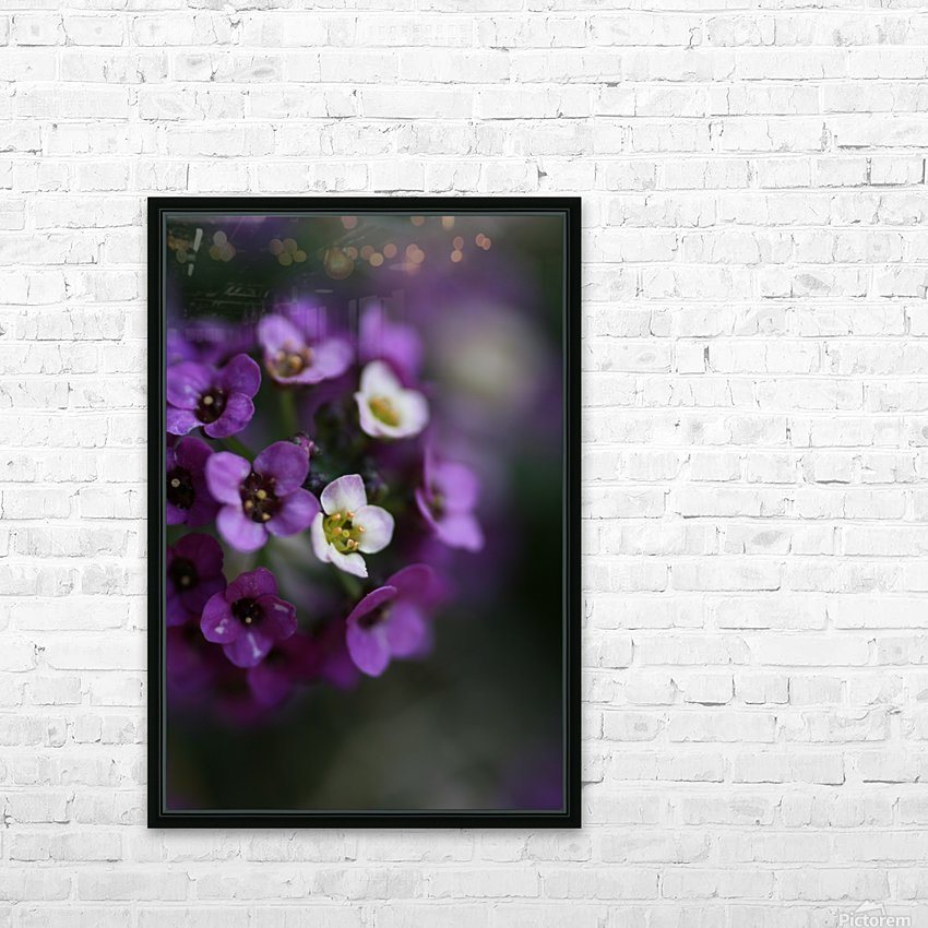 Flower Ball Allysium Flowers HD Sublimation Metal print with Decorating Float Frame (BOX)