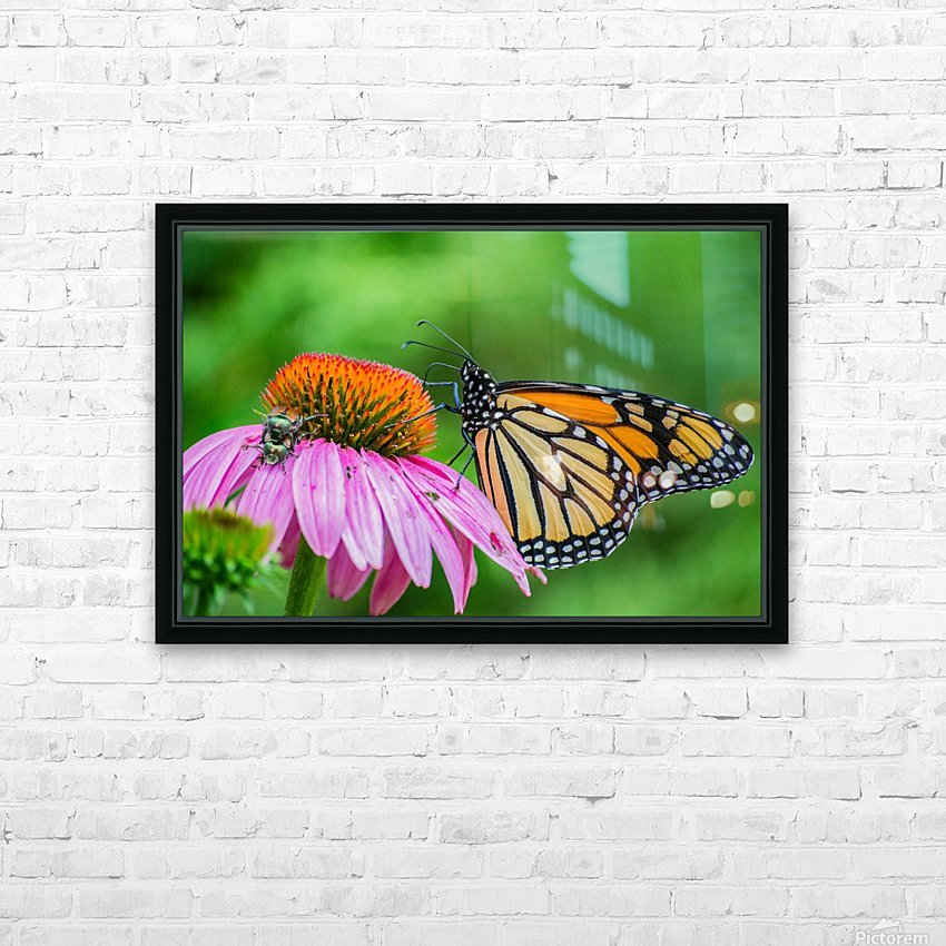 Taking a break II HD Sublimation Metal print with Decorating Float Frame (BOX)